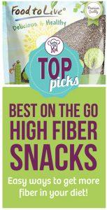 Top Picks: Best High Fiber Snacks on the Go