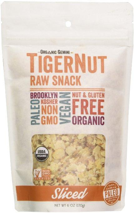 What a great high fiber snack food. Tiger Nuts have 10 grams of fiber per serving.