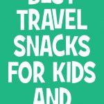 Best Travel Snacks for Kids and Adults