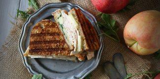 Turkey Apple Brie Panini With Honey Mustard Maple Mayo Recipe
