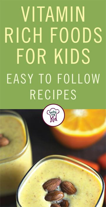 This is a must pin! Give these amazing vitamin rich foods a try! These recipes are amazing and are sure to please even the pickiest of eaters. Feeding My Kid is filled with all the information you need about how to raise your kids, from healthy tips to nutritious recipes. #FeedingMyKid #recipe #vitamins #healthy