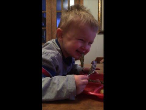 Kids Eating Asparagus
