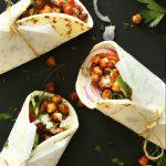 amazing-30-minute-healthy-chickpea-shawarma-wraps-with-a-simple-garlic-dill-sauce-an-easy-weeknight-vegan-plantbased-meal-healthy-recipe-mediterranean-minimalistbaker
