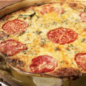 garden-vegetable-crustless-quiche