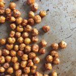 Are you looking for some healthy snack ideas? These crispy chickpeas are a simple snack in lunch boxes and could also double as dinner!