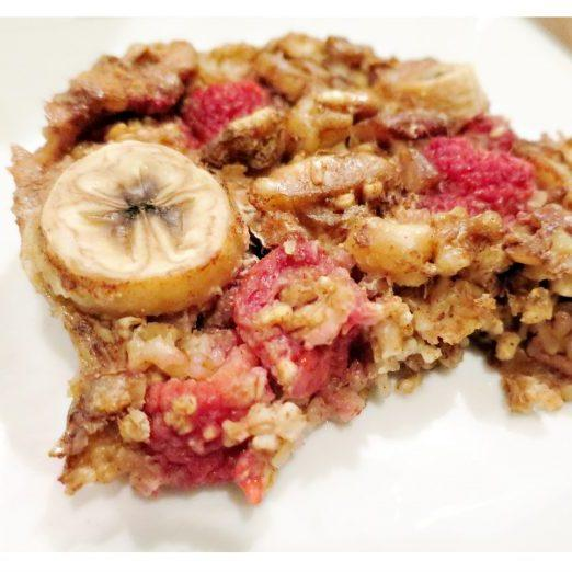 21 Day Fix Fruity Oatmeal Bake