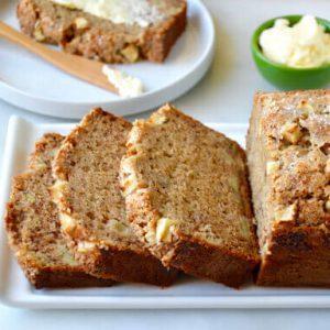 Apple Cinnamon Banana Bread