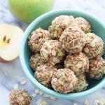 Apple Cinnamon Cookie Energy Bites