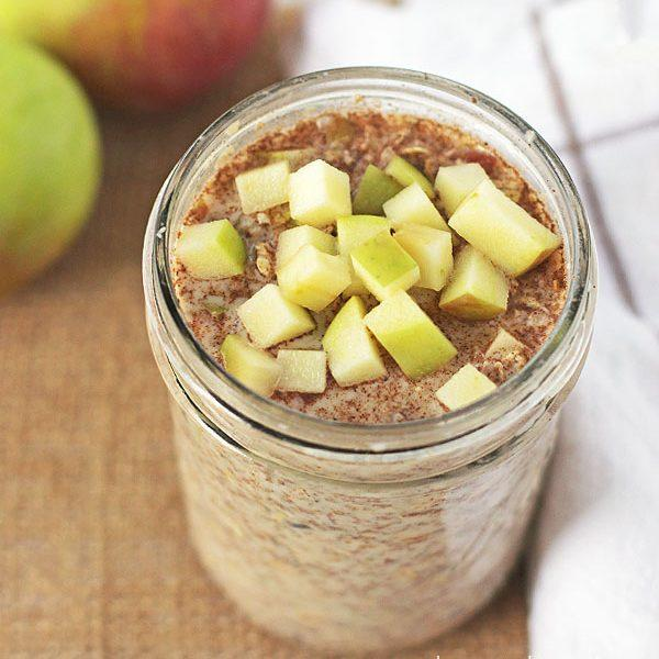 Apple Pie Overnight Refrigerator Oatmeal