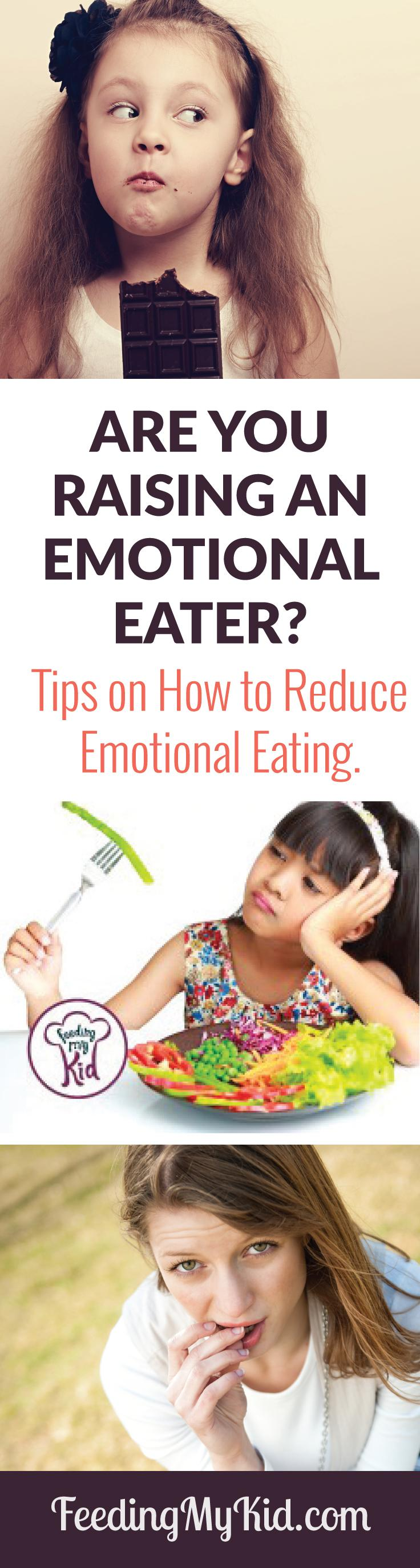 Are You Raising an Emotional Eater? Find out what to do instead. Get Tips to Reduce Your Chances of an Overweight Child.