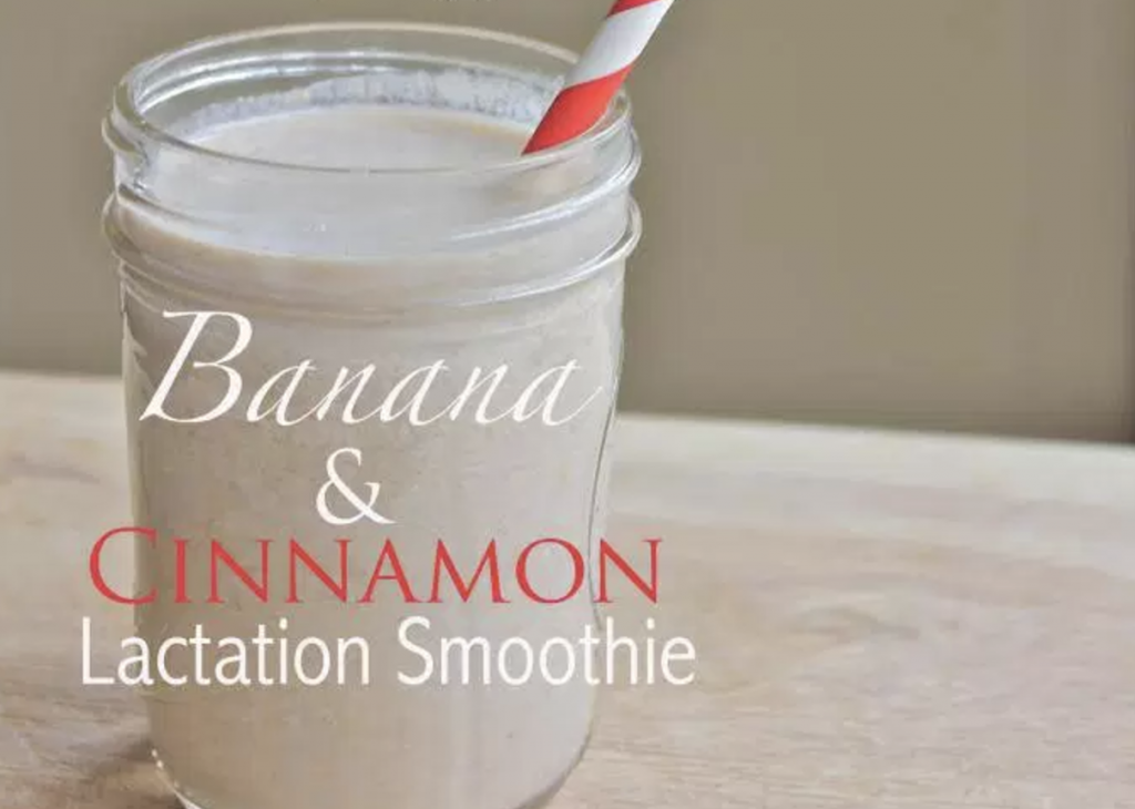 Banana And Cinnamon Lactation Smoothie
