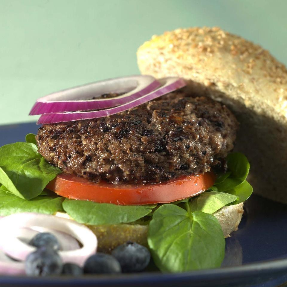 Blueberry Beef Burgers