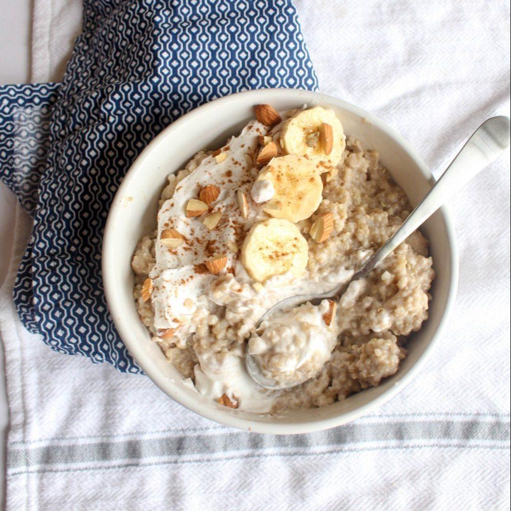 Breakfast Quinoa Rice Pudding