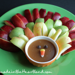 Caramel Apple Turkey Plate