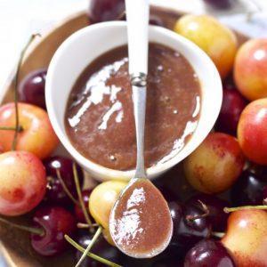 Cherry Basil Puree