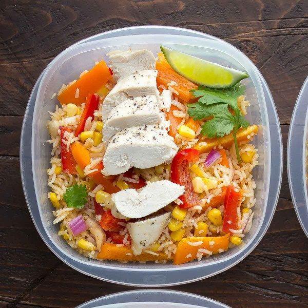 Chicken Fajita Lunch Bowls
