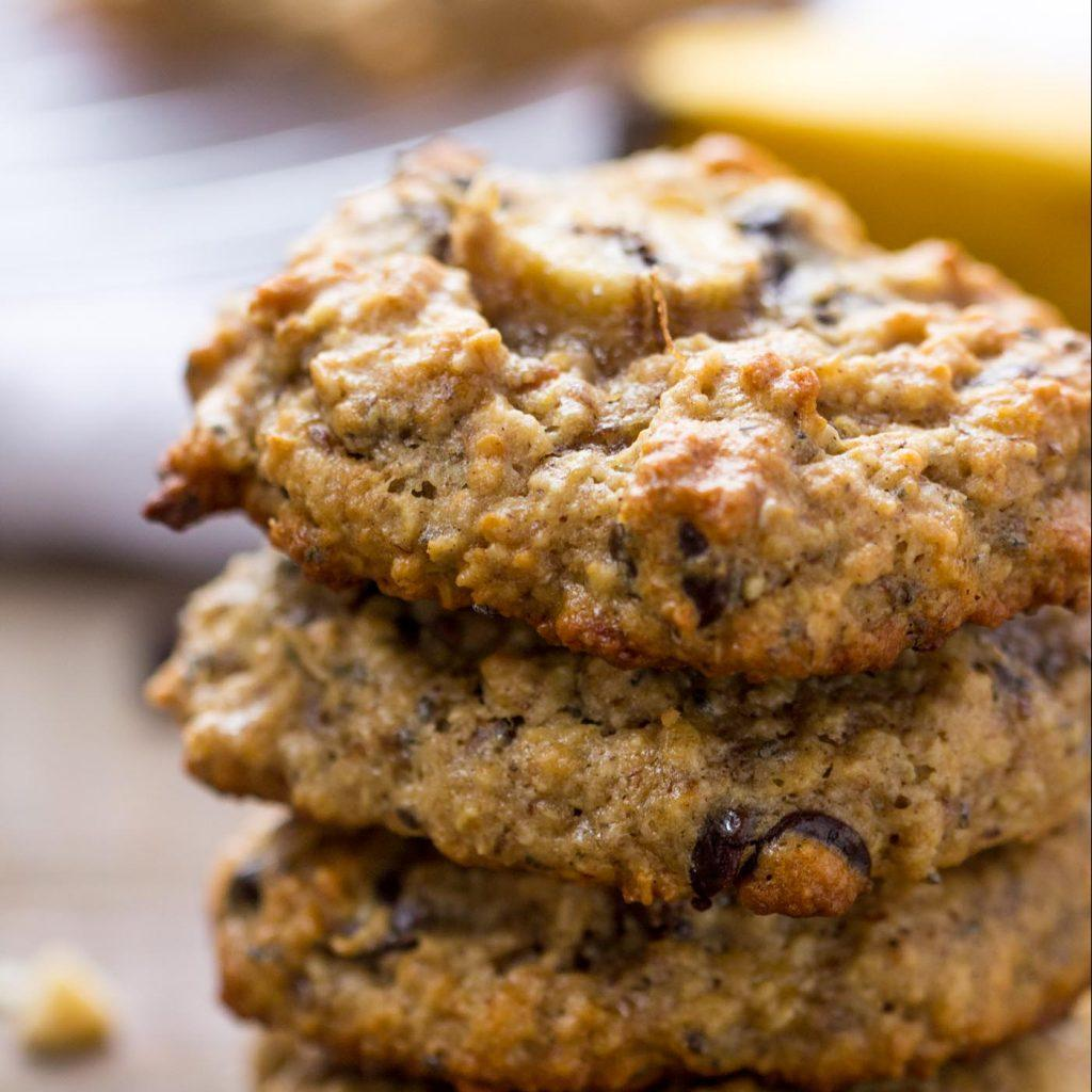 Chunky Monkey Quinoa Breakfast Cookies