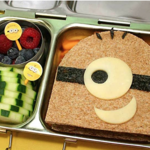 Despicable Me Minion Kids School Lunch
