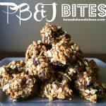 Gluten Free Peanut Butter And Jelly Bites