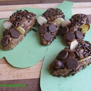 Happy Hedgehog No Bake Cookies