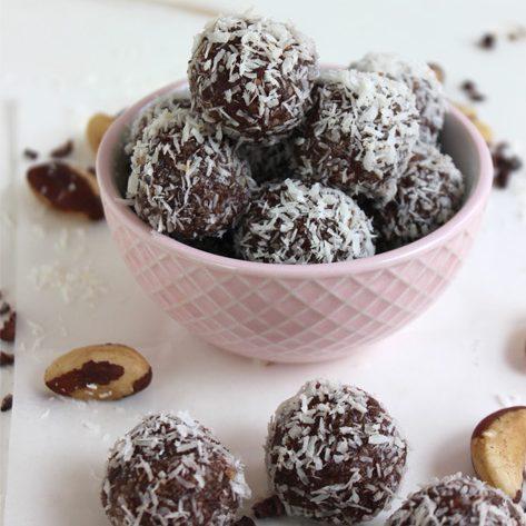 Healthy Brazil Nut Energy Balls