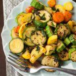 Herb Roasted Zucchini And Carrots
