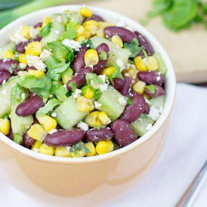 High Protein Kidney Bean Salad
