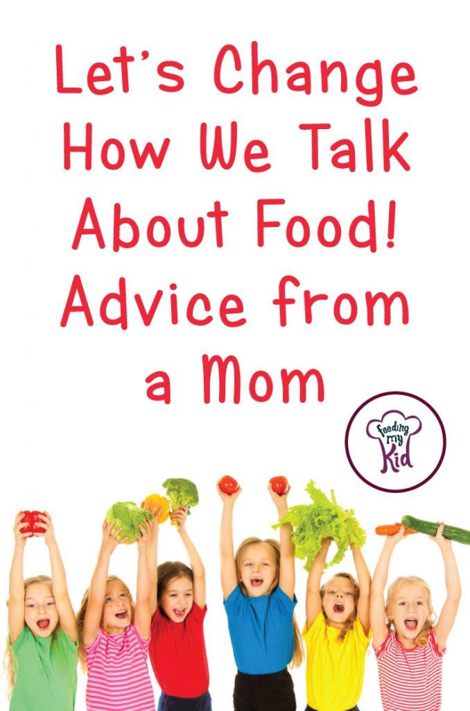 Where is our healthy living revolution? Let's change how we talk about food. This mom breaks down how everyone can learn about healthy living.