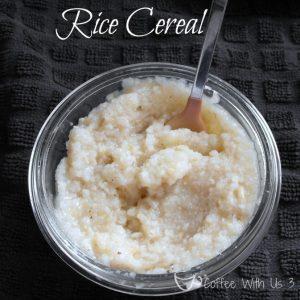 Infant Rice Cereral