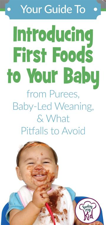 This is the ultimate guide! Pin worthy!! Introducing first foods to baby. Learn About Baby Food Stages