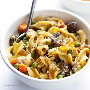 Lighter Tuna Casserole