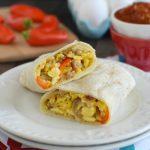 Loaded Egg Burritos