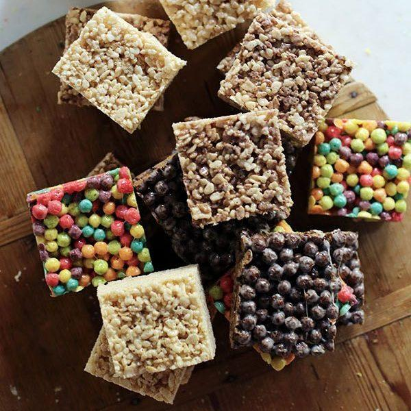 Marshmallow Cereal Bars