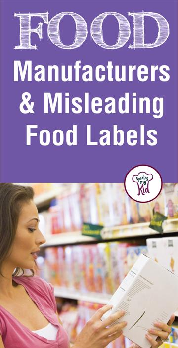 Why you should always pay attention to the food you eat. Reading food labels is the first step. Learn the truth about misleading food labels.