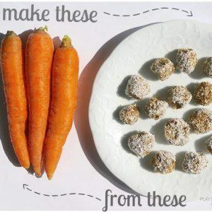 No Bake Carrot Balls