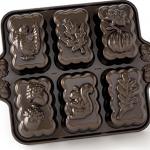 Nordic Ware Harvest Mini Loaf Pan (Bronze)