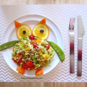 Owl Salad Recipe