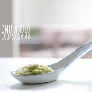 Quinoa, Cauliflower And Leek Puree