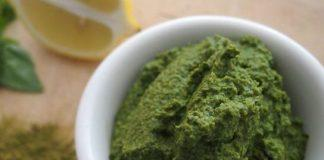 Raw Moringa Spinach Pesto
