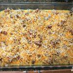 Sausage, Egg And Biscuit Breakfast Casserole