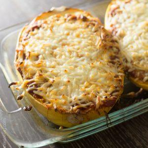 spaghetti-squash-lasagna-boats-with-sausage-and-spinach-1