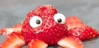 Strawberry Octopus. Foster a love for cooking with these fun recipes for kids! Your kids will love all these different food creations. Food art at its finest!