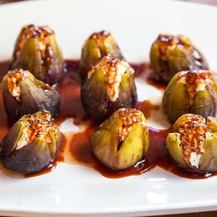 Stuffed Figs with Goat Cheese