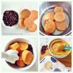 Sweet Potato And Black Bean Puree