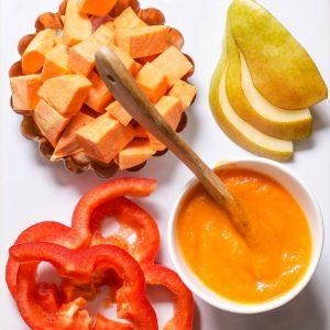 Sweet Potato Pear Red Pepper