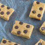 Three Ingredient No Bake Oatmeal Bars