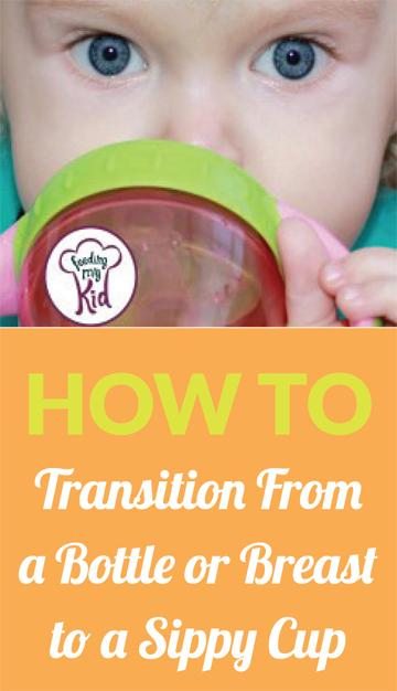 Find Out How Best To Transition From a Bottle or Breast to a Sippy Cup