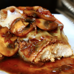 Turkey Saltimbocca With Crispy Prosciutto, Sage and Mushrooms