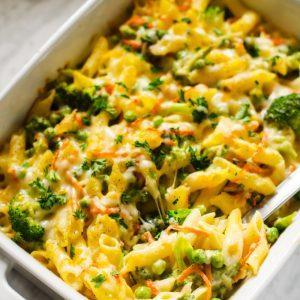 Ultimate Veggie Mac N Cheese