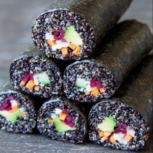 Veggie Quinoa Sushi